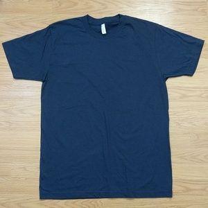 [American Apparel] Navy blue short sleeve t-shirt